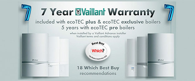 vaillant 7 year plumbing warranty