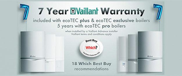 vaillant 7 year plumbing warranty